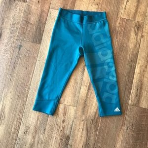 Adidas base layer tech fit cropped tights leggings